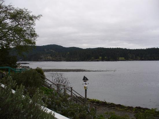 Sooke Harbour House Resort Hotel: View from Fisherman Room Balcony