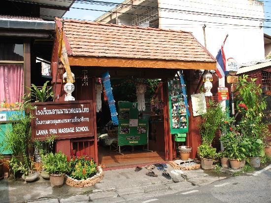 Karinthip Village: massage school across the street