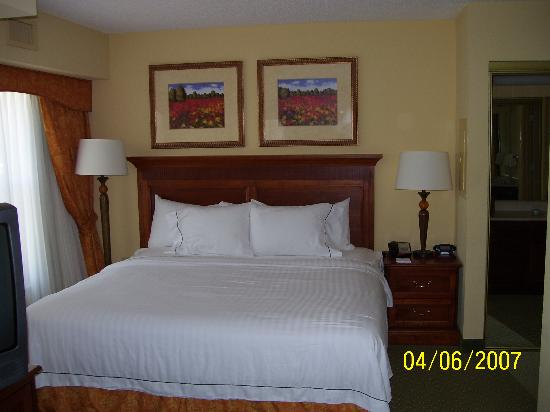 Residence Inn by Marriott Charleston Airport: The bed