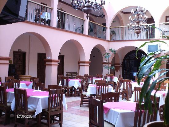 Hotel Posada Cocomacan: Area de restaurant