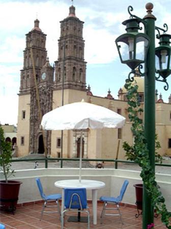 Hotel Posada Cocomacan: Terraza bar