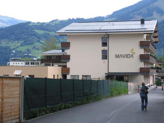 Au enansicht mavida hotel bild von mavida wellnesshotel for Wellnesshotel zell am see