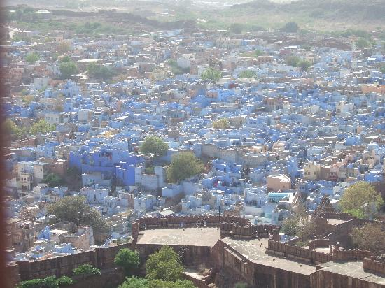 Rajasthan, India: The blue city of Jodhpur