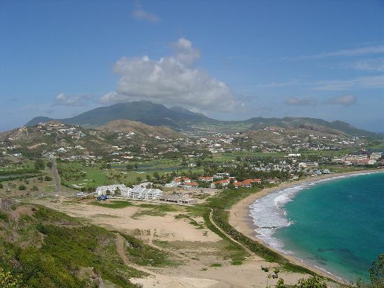 Island Paradise Beach Village: From Timothy Hill looking west