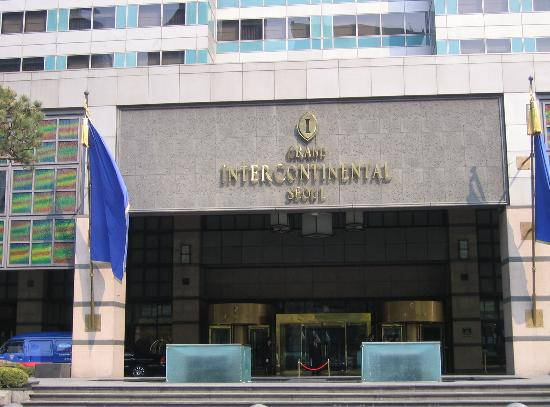 Grand InterContinental Seoul Parnas: Front