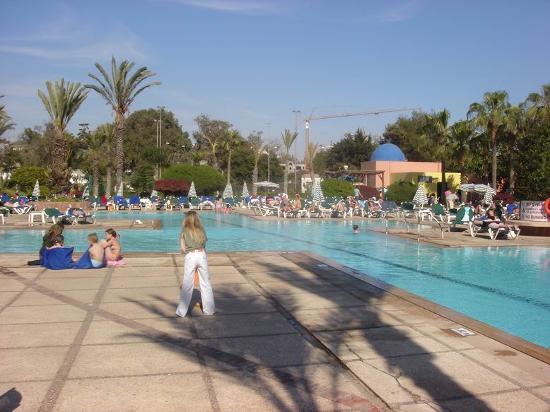 Atlas Amadil Beach Aqua Sun: L'Amadil Beach côté piscine