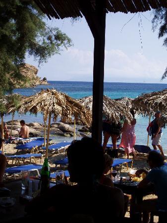 Ornos, Greece: Ristorante a Paranga