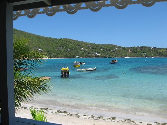 Bequia Beachfront Villas: Verandah view