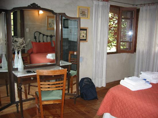 Casa Glebinias: One of the bedrooms in the casita