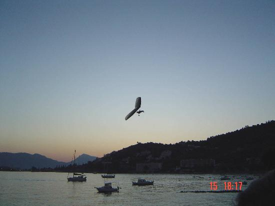 Saronic Gulf Islands, Greece: Askeli beach, evening Aug 2006