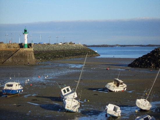 Brittany, France: Tide out