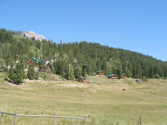 View of the Lodge and Cabins at Timber INn