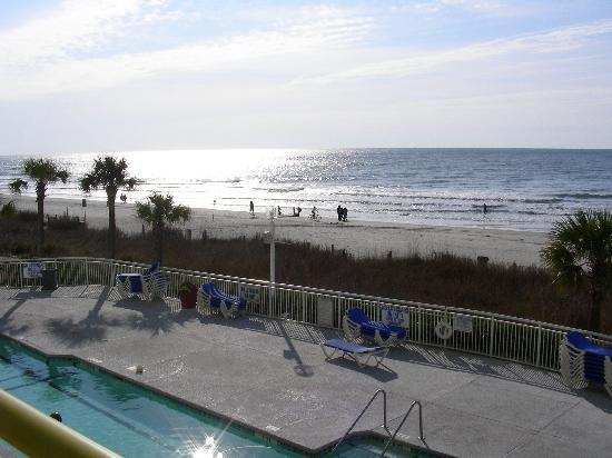 North Myrtle Beach, Carolina Selatan: Easter sunshine on water