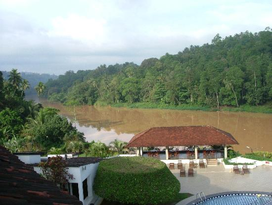 Heritance Ahungalla: View from Citadel Hotel, Kandy