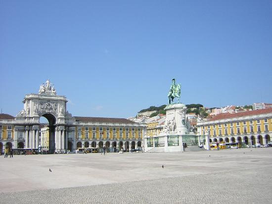 Lisboa, Portugal: Plaza del Comercio