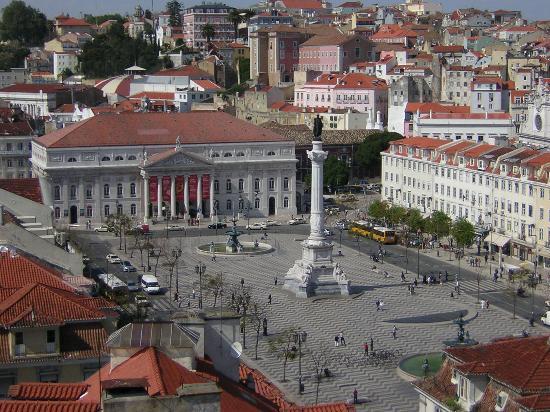 Lisbon, Portugal: Desde el mirador de Santa Justa