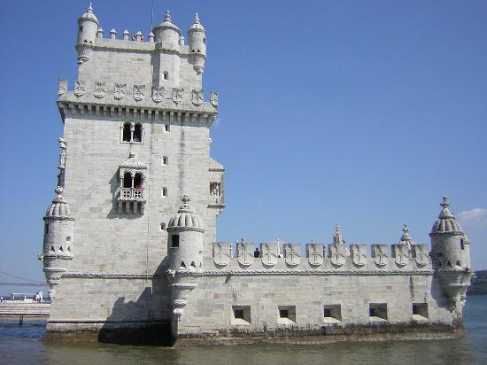 Torre de Belem, en Lisboa.