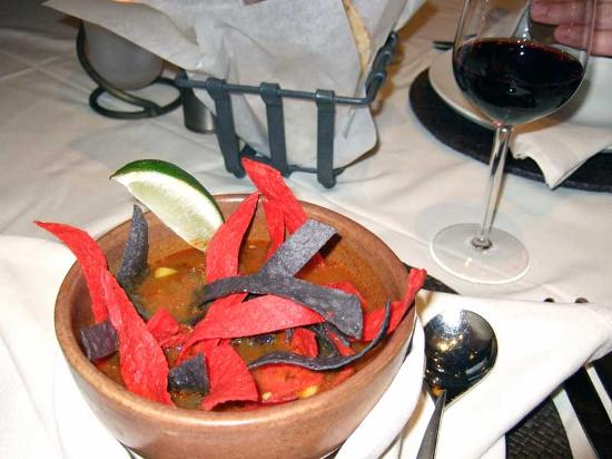 Wendall's Steak & Seafood Restaurant: Cup of tortilla soup