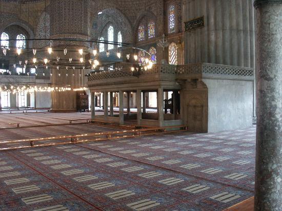 Blaue Moschee (Sultan-Ahmed-Moschee): Inside Blue Mosque