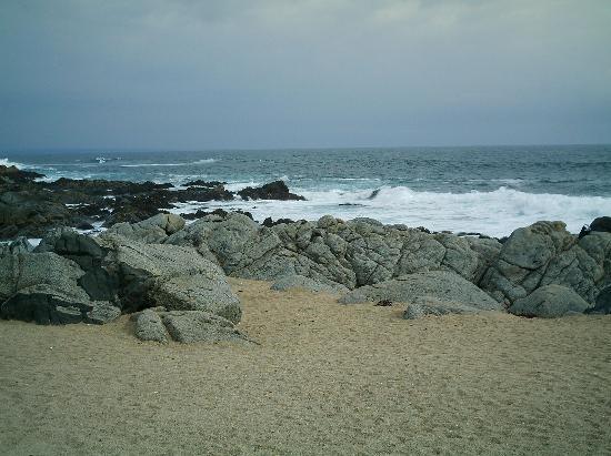 Isla Negra, Chile: Playa de sila negra