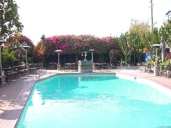 Hotel Figueroa: der Poolbereich
