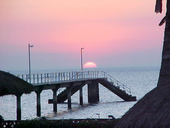 Inhaca Island, Mozambique: sunset