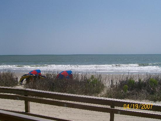 the view picture of holiday sands north myrtle beach. Black Bedroom Furniture Sets. Home Design Ideas