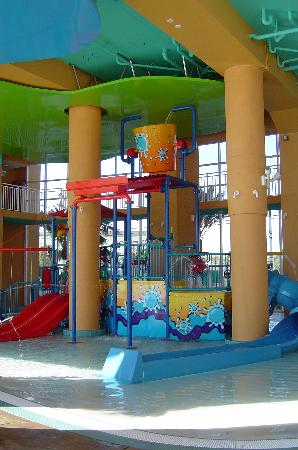 Splash Resort Condominiums: Another playground photo. My kids loved the slides