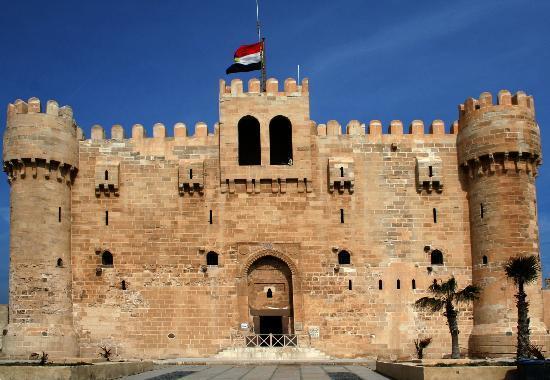 Alexandrie, Égypte : History behind Walls