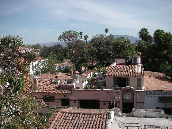 Hotel Casa Blanca: View of Ajijic from Casa Blanca