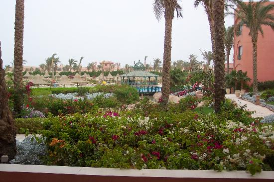 Park Inn by Radisson Sharm El Sheikh Resort: View from our ground floor room