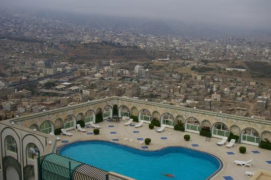 Taiz, Yemen: View from guest room