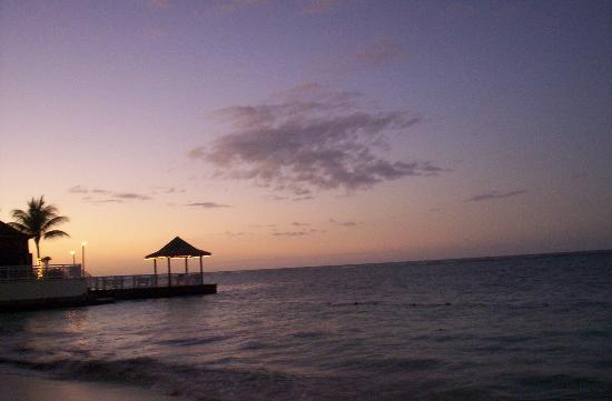 Beaches Ocho Rios Resort & Golf Club: Deck were my brother got married.