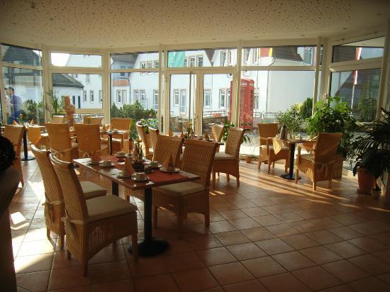 Hotel Romer: Dinin room at Romer Hotel