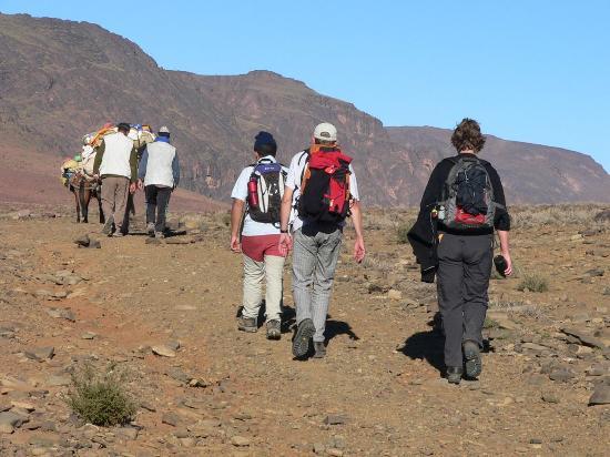 Mount Toubkal : walking in atlas of morocco