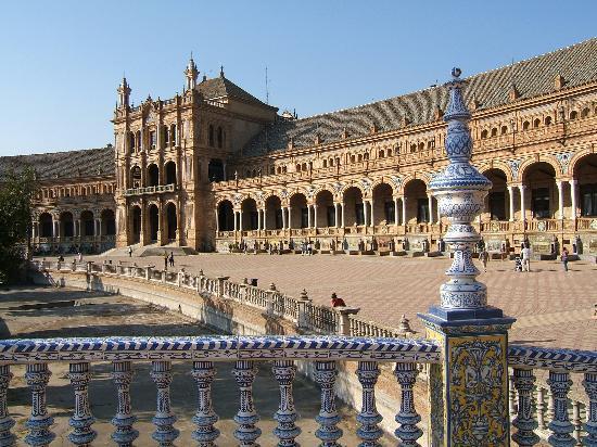 Sevilla, Spanien: Plaza de Espana