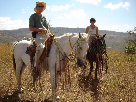 La Posada Azul: Horseback riding