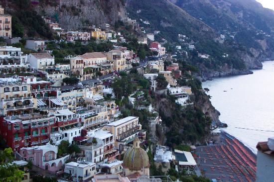 Hotel Poseidon: view from my balcony