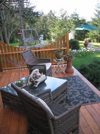 Wildwood Manor Bed and Breakfast: different patio shot