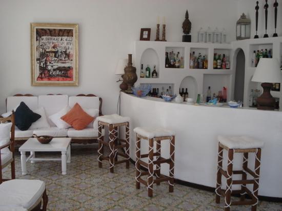 Grand Hotel Chiaia Di Luna : bar