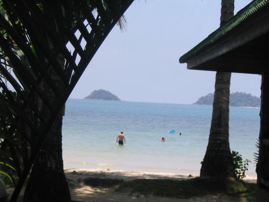 K.B. Resort: View from the bungalow