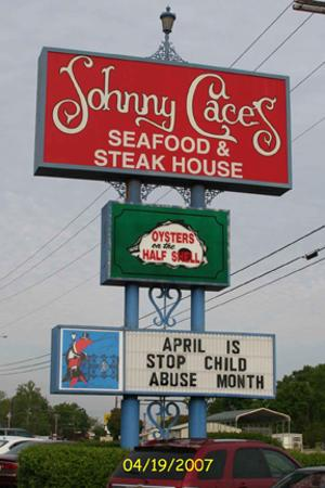 Johnny Cace's Seafood & Steak House: Johnny Cace's Seafood & Steaks, Longview, TX