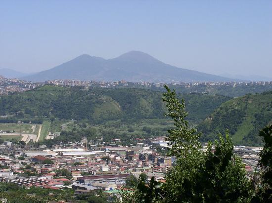Hotel Gli Dei : View of Vesuvious from the Hotel