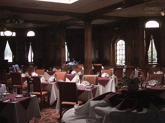 The White Swan Hotel: Restaurant (before opening)