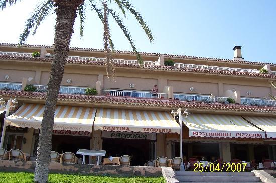 Apartamentos Vistasur: View of Balcony