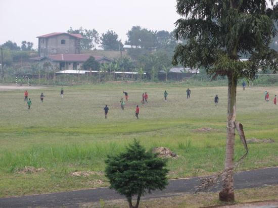 Buea, Cameroon: A view from the room balcony