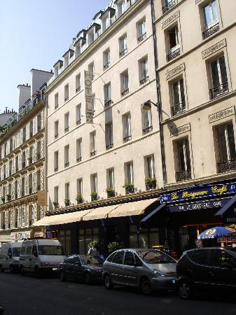 the hotel facade picture of hotel france albion paris tripadvisor. Black Bedroom Furniture Sets. Home Design Ideas
