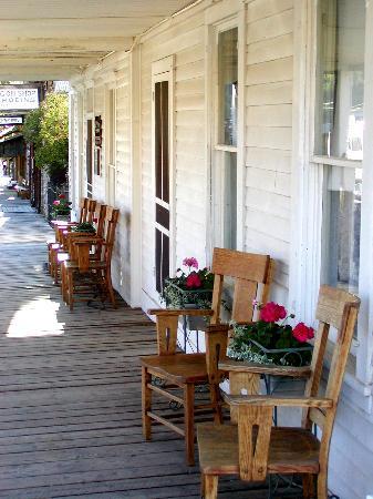 Fairweather Inn Porch