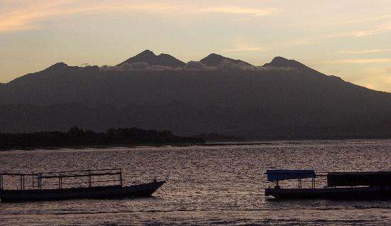 Gili Trawangan, Indonesië: Sunrise on Gili Trawagan 2007