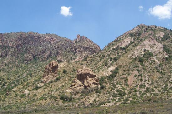 Parque Nacional Big Bend, TX: ROCK FORMATIONS